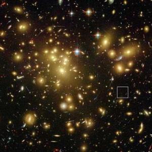 Vista de la puta mierda que es nuestra galaxia.